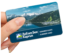 Summer Card Zell am See/Kaprun